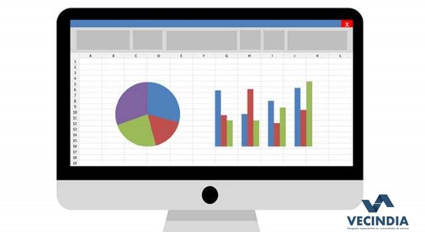 Plantilla de libro de cuentas Excel para una comunidad de vecinos
