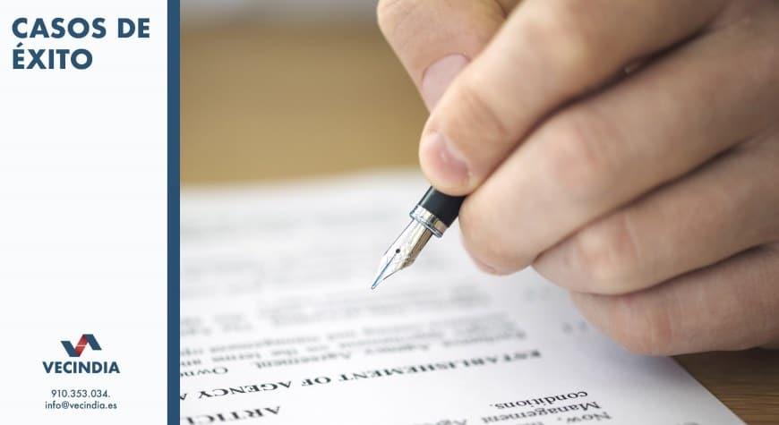 sentencia favorable sobre impugnacion junta comunidad de propietarios - Asesoría legal y jurídica sobre contratos de arras