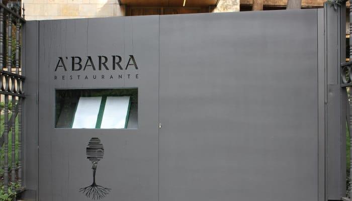 caso de exito obra local restaurante abarra entrada - Obra local comercial rehabilitación integral restaurante A'Barra