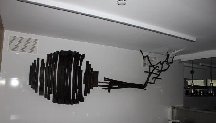 caso de exito obra local restaurante abarra paredes comedor