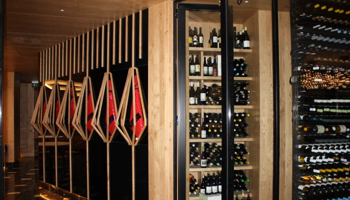 caso de exito obra local restaurante abarra vinotecas - Obra local comercial rehabilitación integral restaurante A'Barra