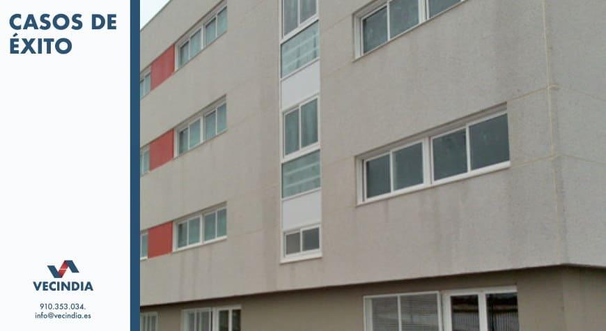 Obras y reformas en comunidades de propietarios - caso de exito reforma colegio luyfe edificio