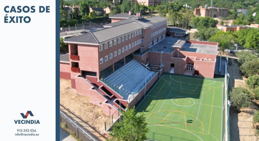 Obras y reformas en comunidades de propietarios - reforma centro educativo colegio kings college