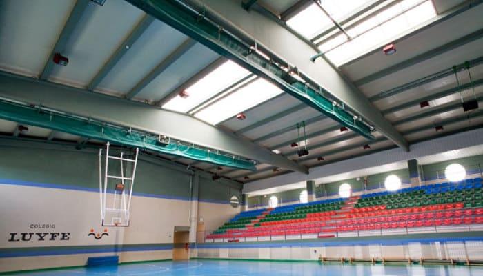 reforma colegio luyfe polideportivo - Reforma Centro Educativo – COLEGIO COLEGIO LUYFE