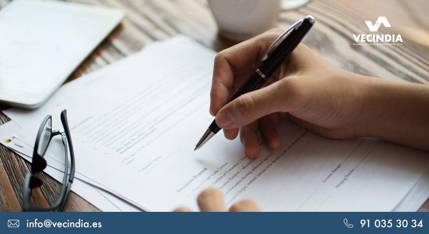 Carta de reclamación de deuda en una comunidad de propietarios: ¿cómo se redacta?