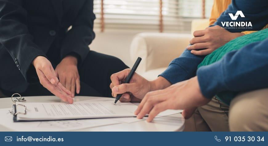 Modelo de demanda de acción individual contra administradores de fincas