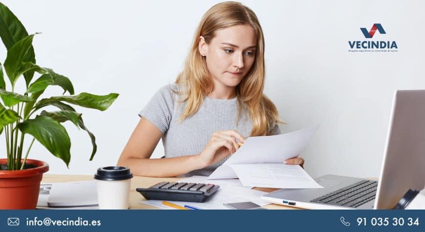 Impugnación de cuentas en comunidades de propietarios